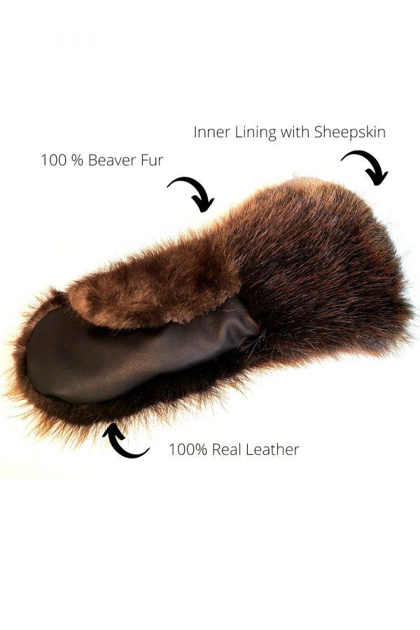 long mittens beaver